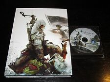 Assassin's Creed III (Sony PS3, 2012) W/ Official Guide includes Lithograph Map