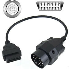 VAG 20pin OBD1 to 16pin OBD2 Diagnostic socket Connector Adapter Cable for BMW