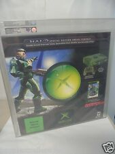 New 2004 Green XBOX Halo 1 Console VGA GRADED 80+ NM 4 Video Game System # 5