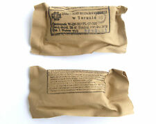 MILITARY FIELD DRESSING UNOPENED - POLISH ARMY POLAND COLD WAR ERA WARSAW PACT