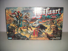 Lionheart Customizable Game of Medieval Warfare Board Game Parker Bros 1997