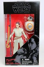 "Star Wars Black Series Rey & BB-8 w/ Lightsaber 6"" Action Figure"