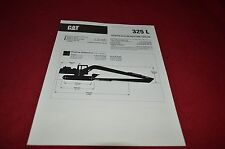 Caterpillar 325 L Excavator Dealer's Brochure DCPA4