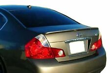 PAINTED REAR WING SPOILER FOR AN INFINITI M35/M45 LIP FACTORY 2006-2007