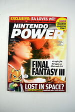 Nintendo Power Magazine Volume 208 October 2006 - Final Fantasy III 3 Star Fox