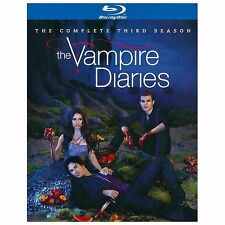 The Vampire Diaries: The Complete Third Season Blu-Ray, 4 Disc Set - Brand New