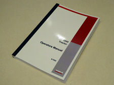 Case 1690 Tractor Operators Manual Owners Maintenance Book NEW