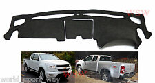 DashMat for Holden Colorado RG LX LT LTZ Charcoal Sunland Dash Mat Protection