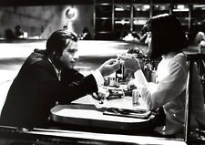 Pulp Fiction John Travolta und Thurman BW POSTER