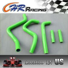 silicone radiator hose for Kawasaki KX250 KX 250 1994-2002 2000 2001 green