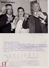 #SESTO S. GIOVANNI: FOTO L'ARTIGIANO CHE HA VINTO LOTTERIA DI MERANO 1961