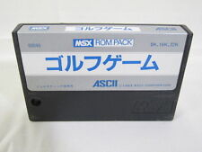 MSX GOLF GAME Cartridge only Import Japan Video Game msx
