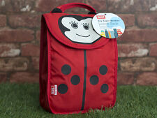 Built NY Big Apple Buddies Ladybird Kids Lunch Sack