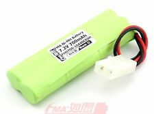 Ni-MH 2/3AA 7.2V 700mAH Rechargeable Battery pack Size:15*29*87mm w/KET 6SH