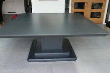 8,10seater Big Square Dining Table,To Colour,Large Pedistal, bespoke, Int or ext