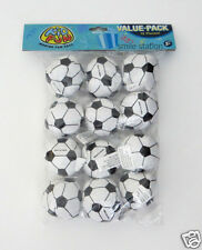 12 Mini Foam Stuffed Soccer Ball Sports Party Goody Loot Bag Filler Favor Supply