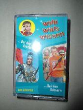 XXXX Willi wills wissen , bei den Rittern / Bei den Römern , MC