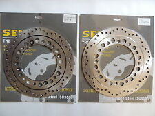 Honda XRV750 Africa Twin Front Brake Disc x2 XRV 750 Two Front discs NEW