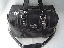 AUTHENTIC COACH MADISON BLACK LEATHER AUDREY #14316 VGC