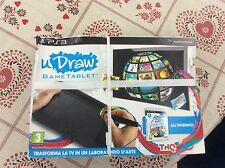 PS3 PlayStation uDraw Game Tablet  nuovo sigillato.
