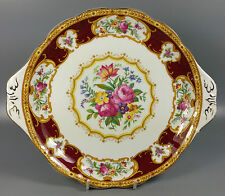 ROYAL ALBERT LADY HAMILTON CAKE / BREAD AND BUTTER PLATE 26.5CM X 23CM