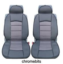 PREMIUM GREY COMFORT PADDED SEAT COVERS FOR VW TRANSPORTER T4 T5 MULTIVAN LT