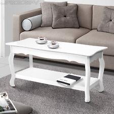 Couchtisch Tisch weiß Beistelltisch Wohnzimmer Sofatisch Shabby Chic Landhaus
