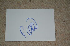 Predrag Mijatovic SIGNED AUTOGRAFO in persona 10x15 cm BIANCA carta Real Madrid