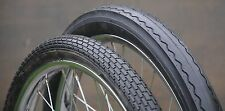 "20"" Muscle Bike Black TIRES Brick & Slick Vintage Schwinn Stingray Bicycle Huffy"