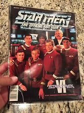 STAR TREK Official Fan Club magazine #83 Dec/Jan 1991- Star Trek VI Movie