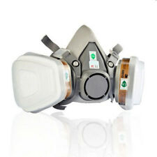 7 in 1 Safety Spraying Half Face Dust Gas Mask For 3M 6200 N95 Mask Respirator