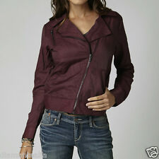 $79 Fox Racing Women's Haze Bomber Jacket – Bordeaux sz XS