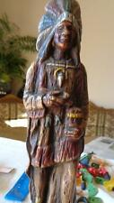 Native American Indian by Artistic Latex Vintage Figurine Form Co Inc NY 12""