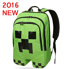 Boys Creeper Backpack Green Hiking Vintage Fashion School Bag New