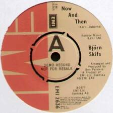 "[BLUE SWEDE] BJORN SKIFS ~ NOW & THEN / DON'T STOP NOW ~ 1977 UK DEMO 7"" SINGLE"