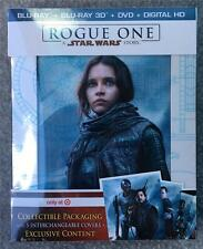 STAR WARS ROGUE ONE 3D + BLU-RAY + DVD + DIGITAL HD - TARGET EXCLUSIVE - *SEALED