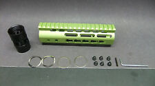 "7"" Inch Ultra Light Slim Hunting ZOMBIE Green KEYMOD Free Float Hand Guard Grip"