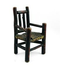 ANTIQUE DOLL CHAIR & NOTE CRADLE OF LIBERTY PARTS AMERICANA FOLK ART