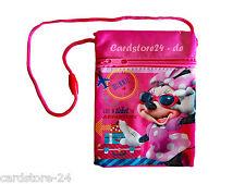 Disney Minnie Maus Kinder Brustbeutel Portemonnaie Geldbörse Geldtasche pink