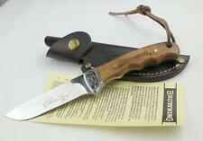 Browning OEM Shadow Wood Hunting Knife Camping tool Survival Knife