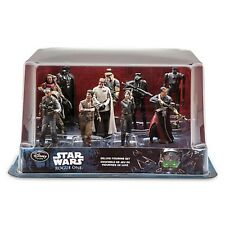 NEW Disney Store Rogue One A Star Wars Story Deluxe Figure Set Figurine Set MIB
