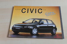 136372) Honda Civic City Edition Prospekt 199?