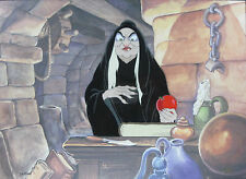 Snow White - Old Hag - Framed Disney Limited Edition Animation Cel