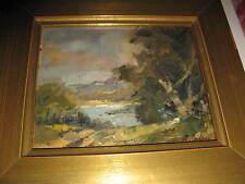 VORNEHM Anneliese, *1928 Blick auf See und Gebirge