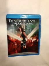 Resident Evil: Apocalypse Blu-Ray DVD Milla Jovovich, Sienna Guillory