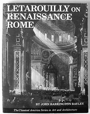 Letarouilly on Renaissance Rome, 1984, Great buildings in the 16th-17th Century