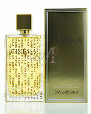 Cinema by Yves Saint Laurent Eau de Parfum 3 oz 90 ml for women