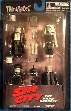 Sin City Minimates Series 2 4 Figure Box Set MINT Diamond Select The Hard Goodby