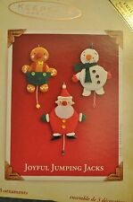 Hallmark - Joyful Jumping Jacks - 3 Miniatures - Classic Ornament