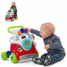 NEW CHICCO HAPPY HIPPY 2 IN 1 PUSH ALONG WALKER / STOP AND PLAY ACTIVITY CENTRE